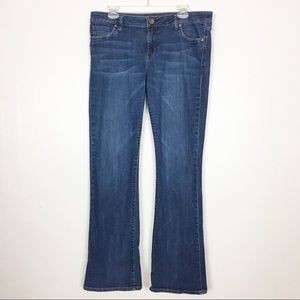 Kut from the Kloth Farrah Baby Bootcut Jeans Sz 14